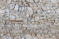 Seamless texture of a rocky coast