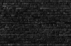 Seamless texture of black Brickwall.