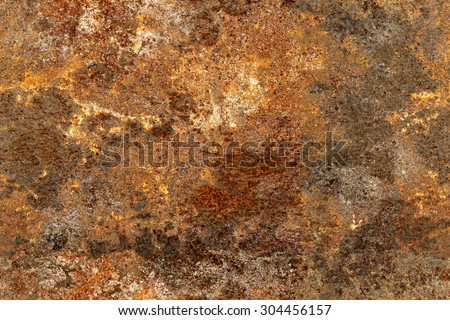 Seamless texture of old and rusty metal