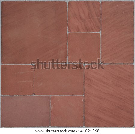 seamless texture of red stones