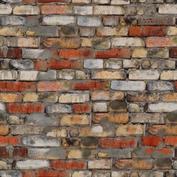 seamless texture of the brick