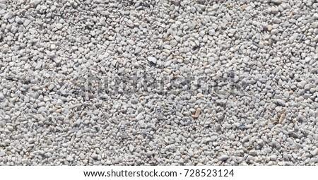 Seamless texture of white stones or gravel
