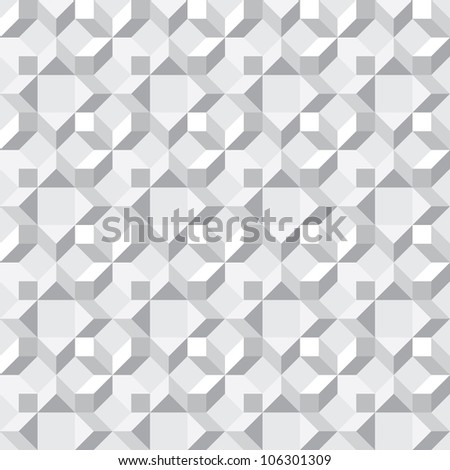Seamless texture - simple monochrome abstract pattern