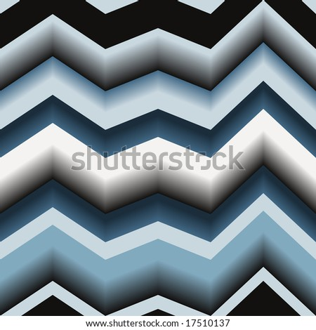 Seamless texture with art 3d zigzag line. Vector version is in my portfolio