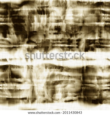 Seamless tie dye ink bleed surface pattern for print or fashion. High quality illustration. Creased and faded color dye on white woven linen textured fabric. Hippie artistic print for faux fashion. Photo stock ©