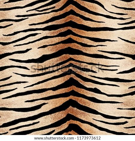 seamless tiger skin pattern