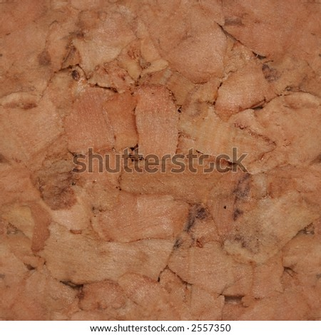 seamless tile of cork surface