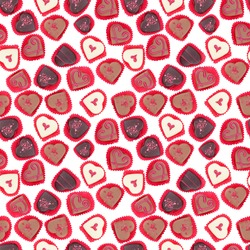 Seamless tileable candy background high quality photo