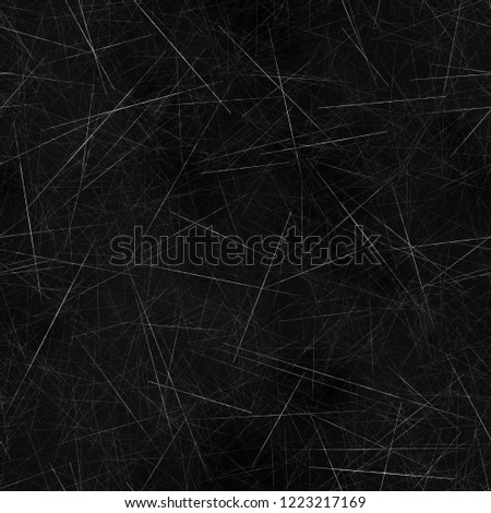 Seamless tileable texture of scratches. Can be used for 3d render as roughness or bump map in order to create surface imperfection
