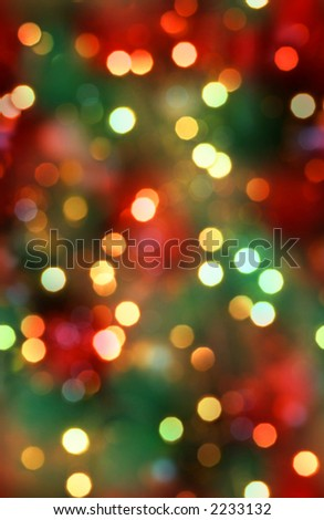 Seamless tiling christmas lights. Make an infinite wall of light. One of a series of 3.