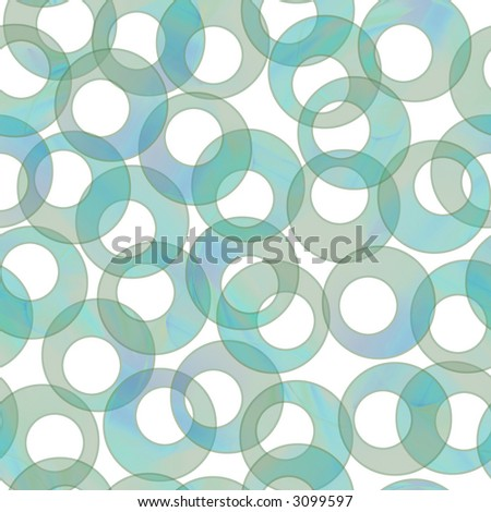 Seamless Tiling Retro Aqua Background