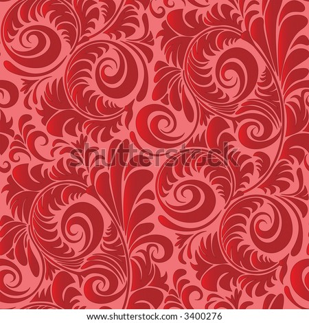 stock photo : Seamless Vintage Repeating Wallpaper Pattern