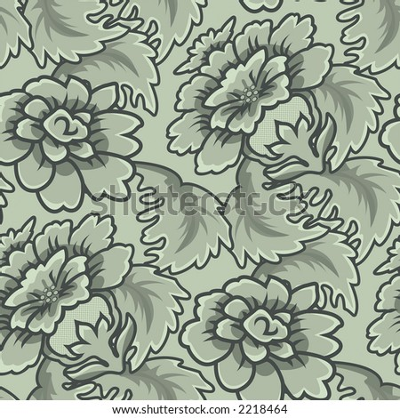 wallpaper patterns vintage on Seamless Vintage Wallpaper Pattern Stock Photo 2218464   Shutterstock