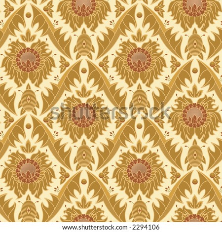 wallpaper patterns vintage on Seamless Vintage Wallpaper Pattern Stock Photo 2294106   Shutterstock