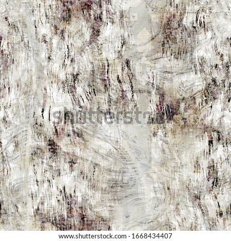 Seamless white grey birch bark tree texture background. Mottled streaked with blotched minimal marks. Abstract pattern design. Light gray speckled melange spots for realistic organic nature effect.