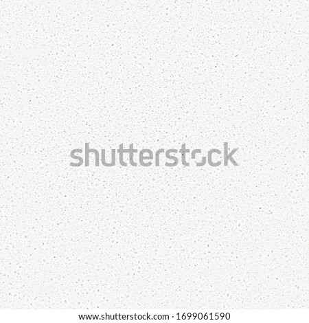 Seamless white quartz texture pattern. The subtle texture is tileable, best for repeating countertop background surface. Quartz is an engineered stone kitchen counter material unlike marble / granite.