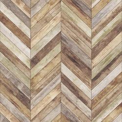 Seamless wood parquet texture (chevron old)