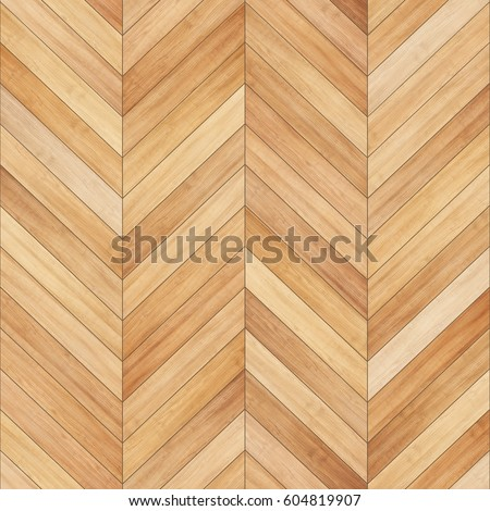 Seamless wood parquet texture (chevron sand color) #604819907