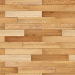 Seamless wood parquet texture (linear light brown)