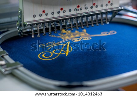 seamstress clothing industry embroidery industrial embroidery sewing machine