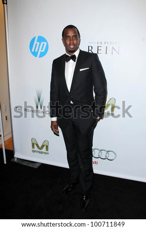 Sean Combs at the Weinstein Company Post Oscar Event, Skybar, West Hollywood, CA 02-26-12