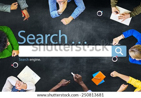 Search Browse Find Internet Search Engine Concept