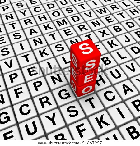 Search Engine Optimization (cubes crossword series)