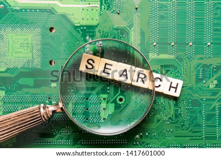 Search results from search engine query, searching the internet #1417601000