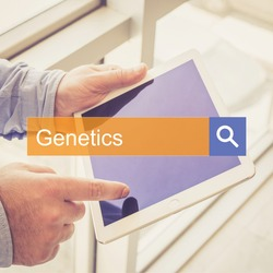 SEARCHING TECHNOLOGY HEALTH Genetics COMMUNICATION CONCEPT