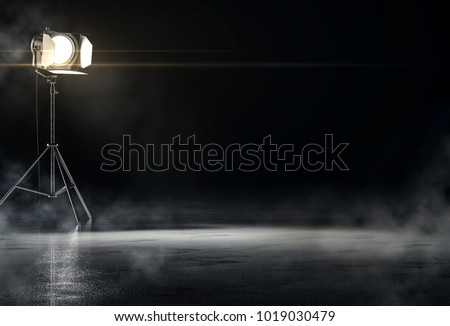 Searchlight background concept