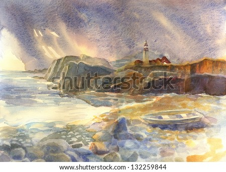 Stock Photo Seascape