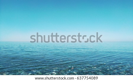 Seascape Background. #637754089