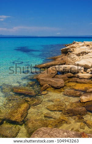 Seascape, Halkidiki, Greece