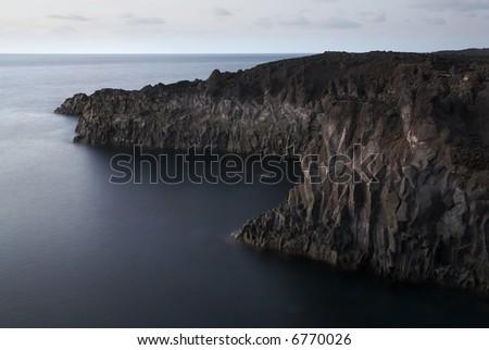 Seascape of los Hervideros, Lanzarote