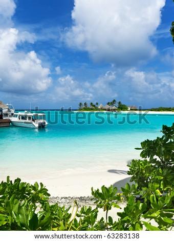 seascape on maldives island resort