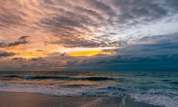 Seascape Shots taken in Cocoa Beach