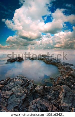 Seascape, which creates a romantic mood