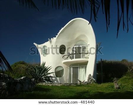 Seashell house, Isla Mujeres, Mexico