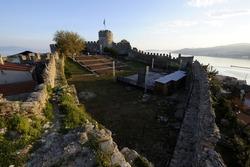 Seaside city of Kavala in Greece