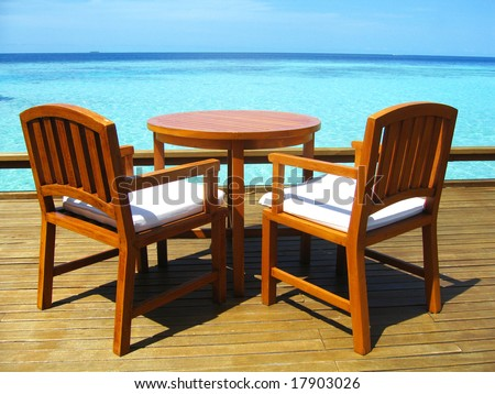 Seaside Table And Chairs