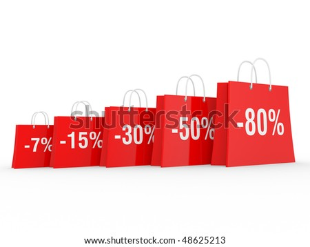 Season of discounts, the big sale of the goods