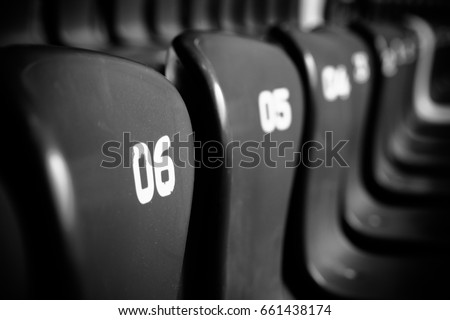 Seat number 6 #661438174