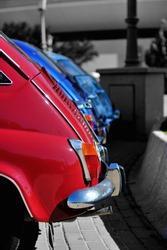 Seat 600. Spanish classic car.