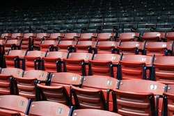 Seats at Boston's Fenway Park.