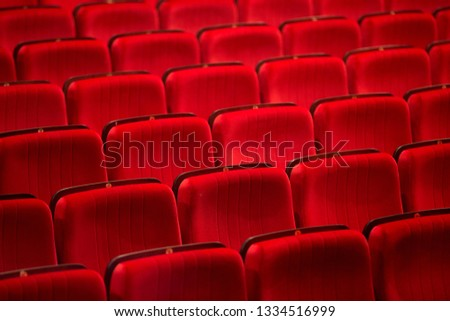 Seats in the theatre  #1334516999