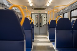 Seats in the train