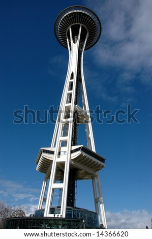 Seattle Space Needle in the Afternoon