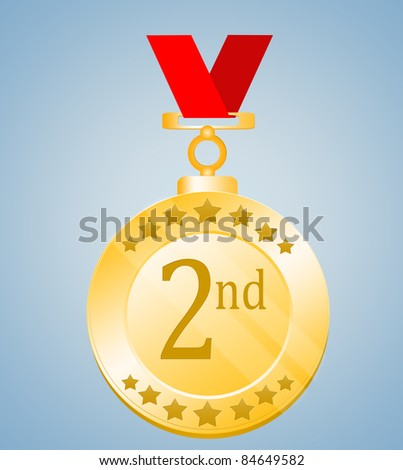 Second Position Medal