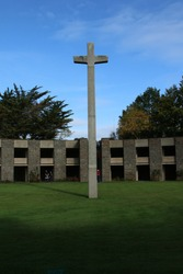 Second worldwar cementary in France