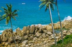 Secret beach in Mirissa